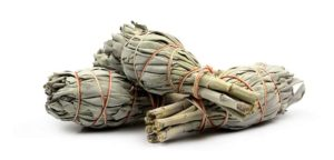 sage is used to cleanse the energy of a person, place or thing